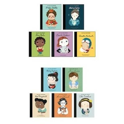Little People Big Dreams, 10 Books Collection Set by Lisbeth Kaiser - Brand New