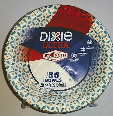 Dixie Ultra Paper Bowls, 20 Ounces, 56 Count great deal. Free shipping