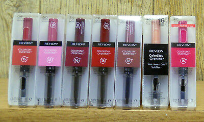 Revlon Colorstay Overtime 16 Hour Lip Color  (Choose Your Color)(Factory Sealed)