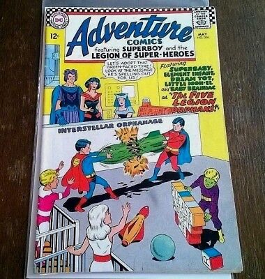 Adventure Comics #356 Superboy & The Legion VF DC Comics May 1967 Silver Age