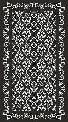 PANEL PATTERN CDR AI DXF File for CNC Laser Plasma & Water Jet Router  DOOR0044
