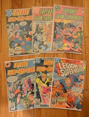 Superboy and the Legion Of Super-Heroes (DC, 1978) #244, 246, 255, 257, 258 259