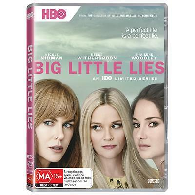 Big Little Lies : Season 1 (DVD, 2017, 3-Disc Set) (Region 4) Aussie Release