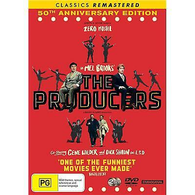 Producers (1968) 50th Anniversay Edition (DVD, 2-Disc Set)(Region 4) New Release