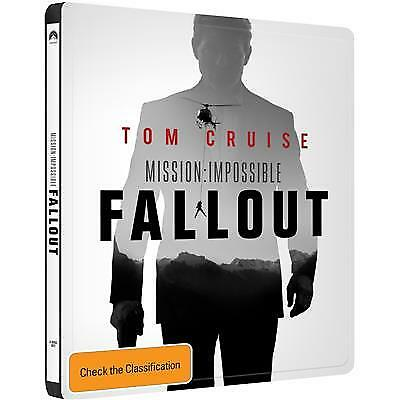 Mission Impossible -Fallout (Steelbook)(4K Ultra HD/2 Blu-Ray, 2018) (Region B)