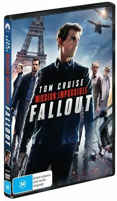 Mission Impossible - Fallout (DVD, 2018) (Region 4) New Release