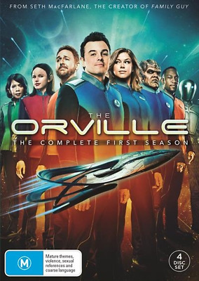 Orville, The - Season 1 (DVD, 2018) (Region 4) New Release