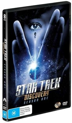 Star Trek - Discovery : Season 1 (DVD, 2018) (Region 4) New Release