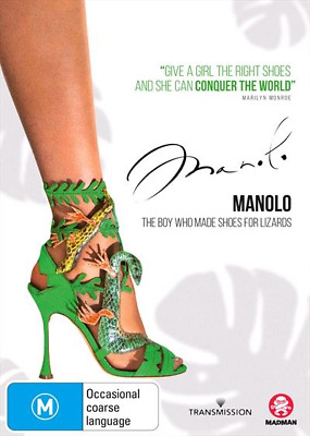 Manolo - The Boy Who Made Shoes For Lizards (2018) (DVD) (Region 4) New Release