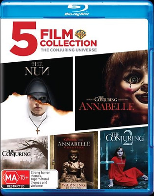 Conjuring Universe, The - 5 Film Collection (Blu-ray) (2018) (Region B) New