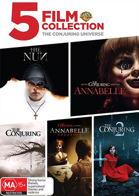 Conjuring Universe, The - 5 Film Collection (DVD) (2018) (Region 4) New Release