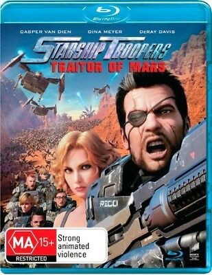 Starship Troopers - Traitor Of Mars (Blu-ray, 2017) (Region B) Aussie Release
