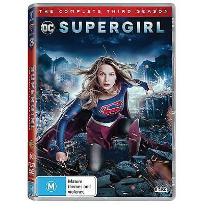 Supergirl : Season 3 (DVD, 2018, 5-Disc Set) (Region 4) New Release