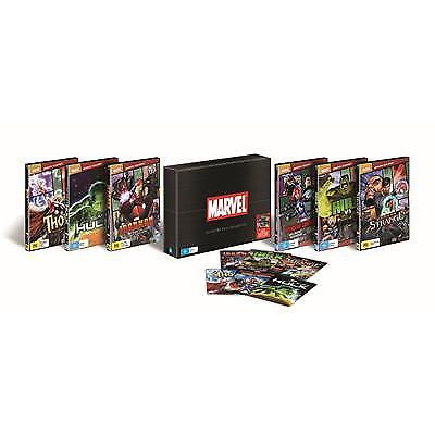 Marvel Animated Film Collection | 6 Pack (DVD, 2018, 6-Disc Set)(Region 4) New