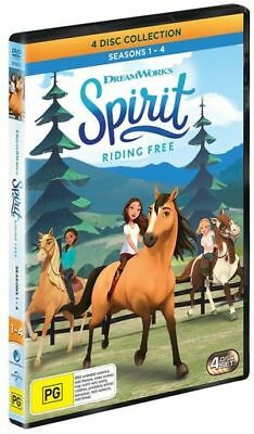 Spirit - Riding Free : Season 1-4 | Boxset (DVD, 2018) (Region 4) New Release