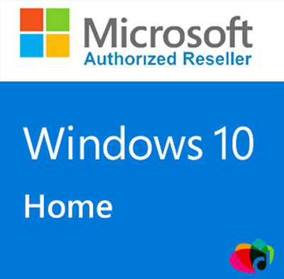 Genuine Microsoft Windows 10 Home Edition  - 64 bit  / full version.