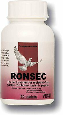 Pigeon Product - Ronsec - Trichomoniasis (Crop Canker) - by Medpet