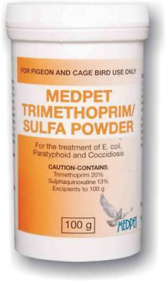Pigeon Product - Trimethoprim Sulfa by Medpet - Racing Pigeons