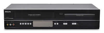 Philips dvp3345vb dvd vcr combo vhs with remote cables cleaned.