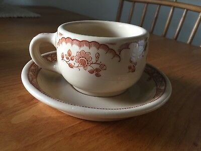Inca Ware Shenago China New Castle, PA Cup And Saucer