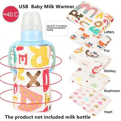 Preservation Baby Bottle Warmer Insulated Bag Travel Cup Heater Milk Thermostat