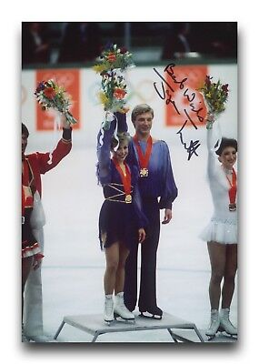 Jayne Torvill Hand Signed 12X8 Photo Figure Skating - Olympic Autograph 3.