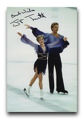 Jayne Torvill Hand Signed 12X8 Photo Figure Skating - Olympic Autograph 4.
