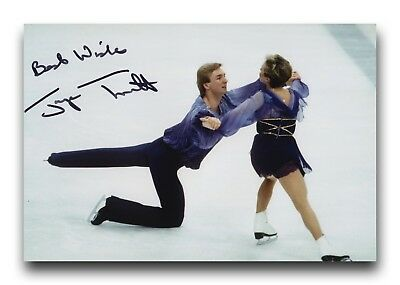 Jayne Torvill Hand Signed 12X8 Photo Figure Skating - Olympic Autograph 5.