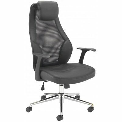 Executive Office Computer Adjustable Chair Leather Home Luxury Swivel High Back