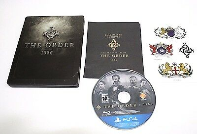 The Order 1886 (PlayStation 4 2015) Game Limited Collector's Edition Steelbook