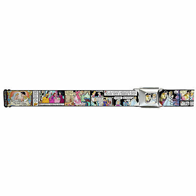 Walt Disney Movies TV Shows Cinderella Comic Strip Seatbelt Belt