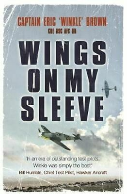 NEW Wings on My Sleeve By Eric Brown Paperback Free Shipping
