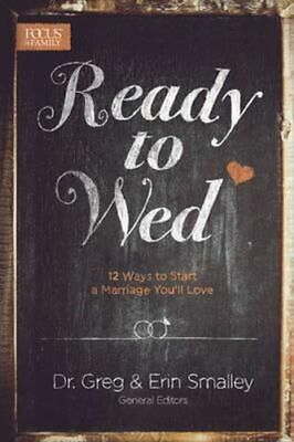 NEW Ready to Wed By Dr Greg Smalley Paperback Free Shipping