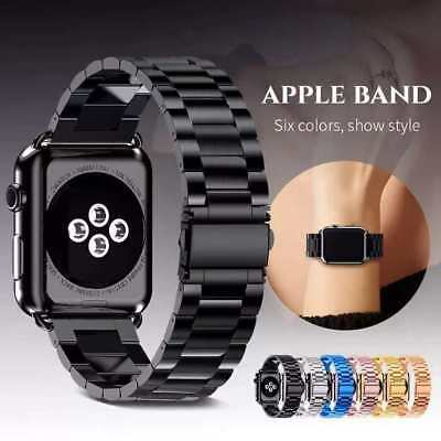 For Apple Watch Series 3 2 1 Bracelet Strap Stainless Steel Metal Band 38mm 42mm