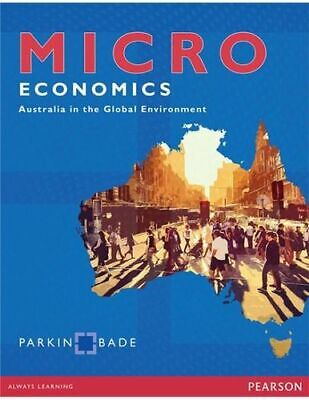 NEW Microeconomics By Michael Parkin Paperback Free Shipping