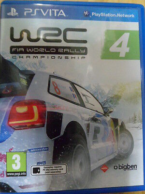 WRC 4 FIA World Rally Championship PS Vita carreras coche castellano In english