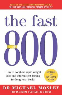 NEW Fast 800 By Michael Mosley Paperback Free Shipping