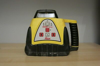 Leica Rugby 100 LR Self Leveling Rotating Laser Level