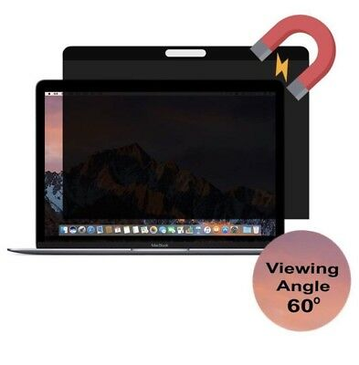 Geckocare [Upgrade Version] Magnetic Privacy Screen MacBook