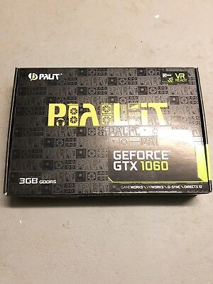 NVidia Palit 1060 3GB Graphic Card Barely Used