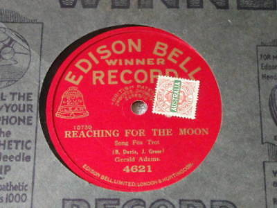 Edison Bell Winner  Record (Red)- 10702  - Unusual Label  - 78 Rpm