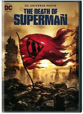 Brand New The Death Of Superman (2018) Dvd Disc Only!