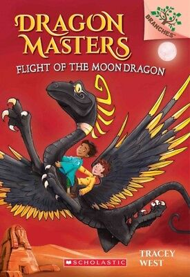 Flight of the Moon Dragon, Paperback by West, Tracey; Jones, Damien (ILT), Br...