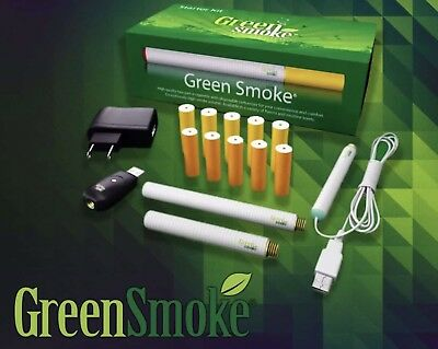 Rechargeable Electronic Cigarette E cig ((EShisha)) Green Smoke E-Cigarettes