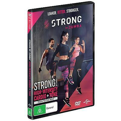 Strong By Zumba (DVD, 2019) (Region 2,4) New Release