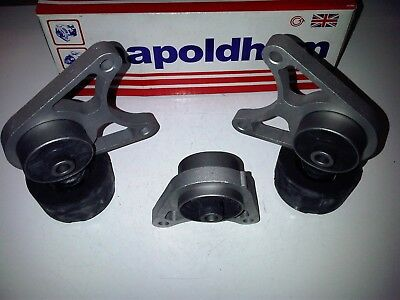 LAND ROVER FREELANDER MK1 1998>2006 3x BRAND NEW REAR DIFF AXLE MOUNT MOUNTINGS