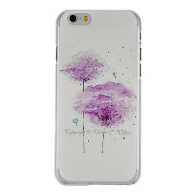 Ultra Thin Hard Shock-proof Flower Pattern Mobile Phone Cases For Iphone WST