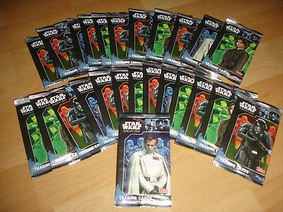 Topps Star Wars Rogue One  - 20 Booster Trading Cards - OVP/Ungeöffnete Booster