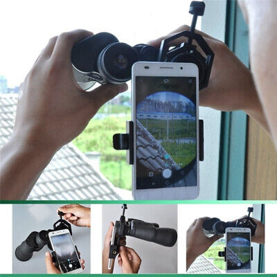 Smartphone Phone Adapter Holder Mount for Telescope Spotting Scope Binoculars