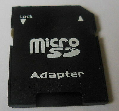 4 x MICRO SD SDHC MEMORY CARD ADAPTOR ADAPTER CONVERTER TO STANDARD SD UK STOCK